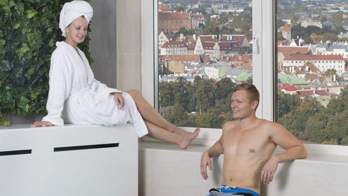Privaatsaun vaatega Tallinna vanalinnale | Tervisekeskus Club 26